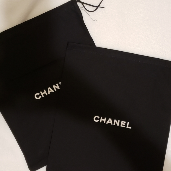 Authentic Chanel Drawstring Dust Bag